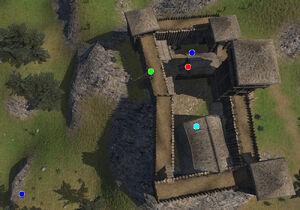 Alburq Castle map