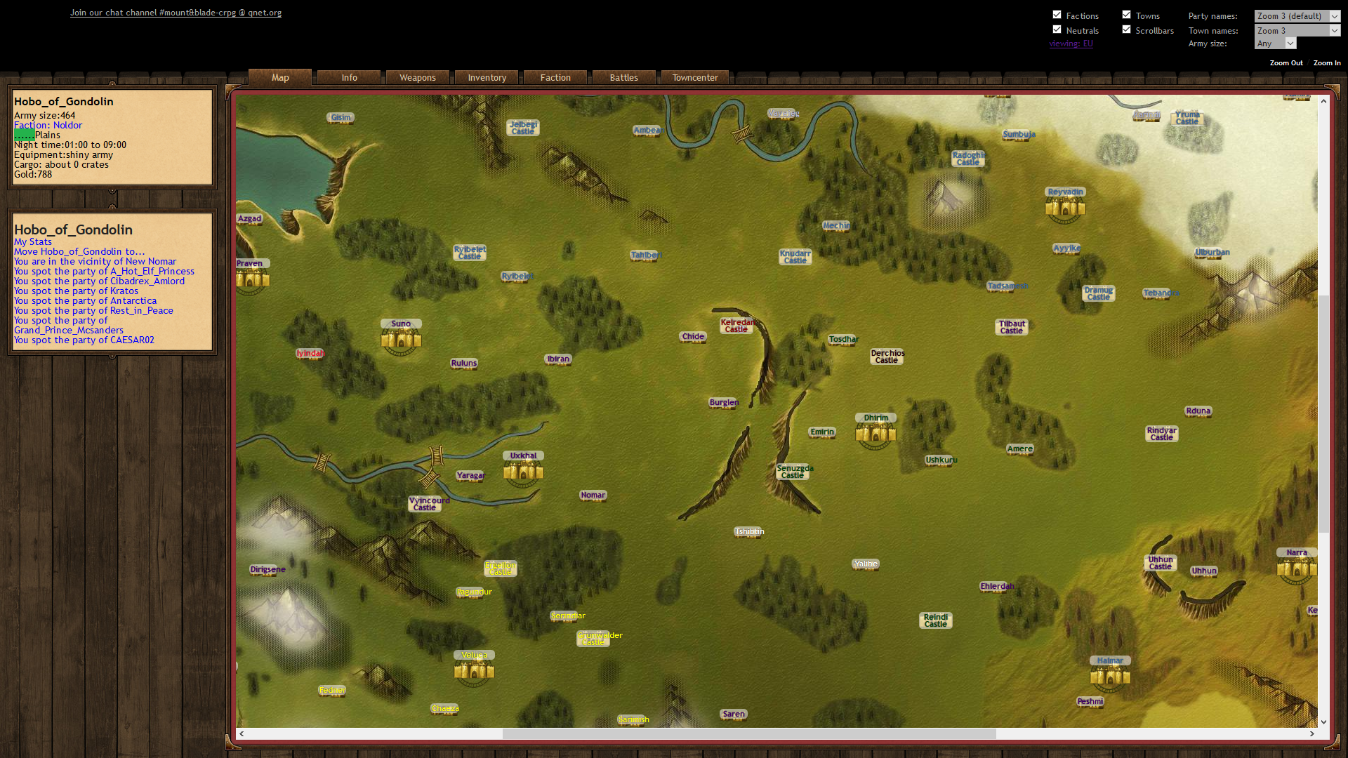 Crpg mount and blade wiki fandom powered by wikia strategus expands crpg to a browser based real time map gumiabroncs Choice Image