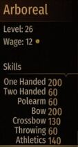 Arboreal stats