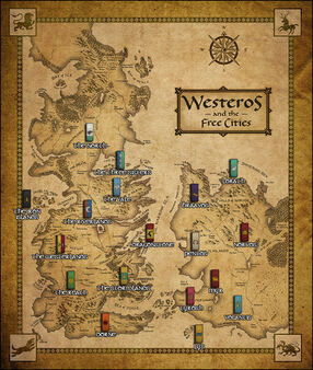 Map and factions ACOK