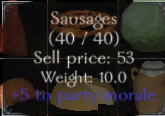Food stats