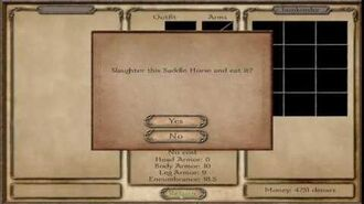 Mount & Blade Horse meat