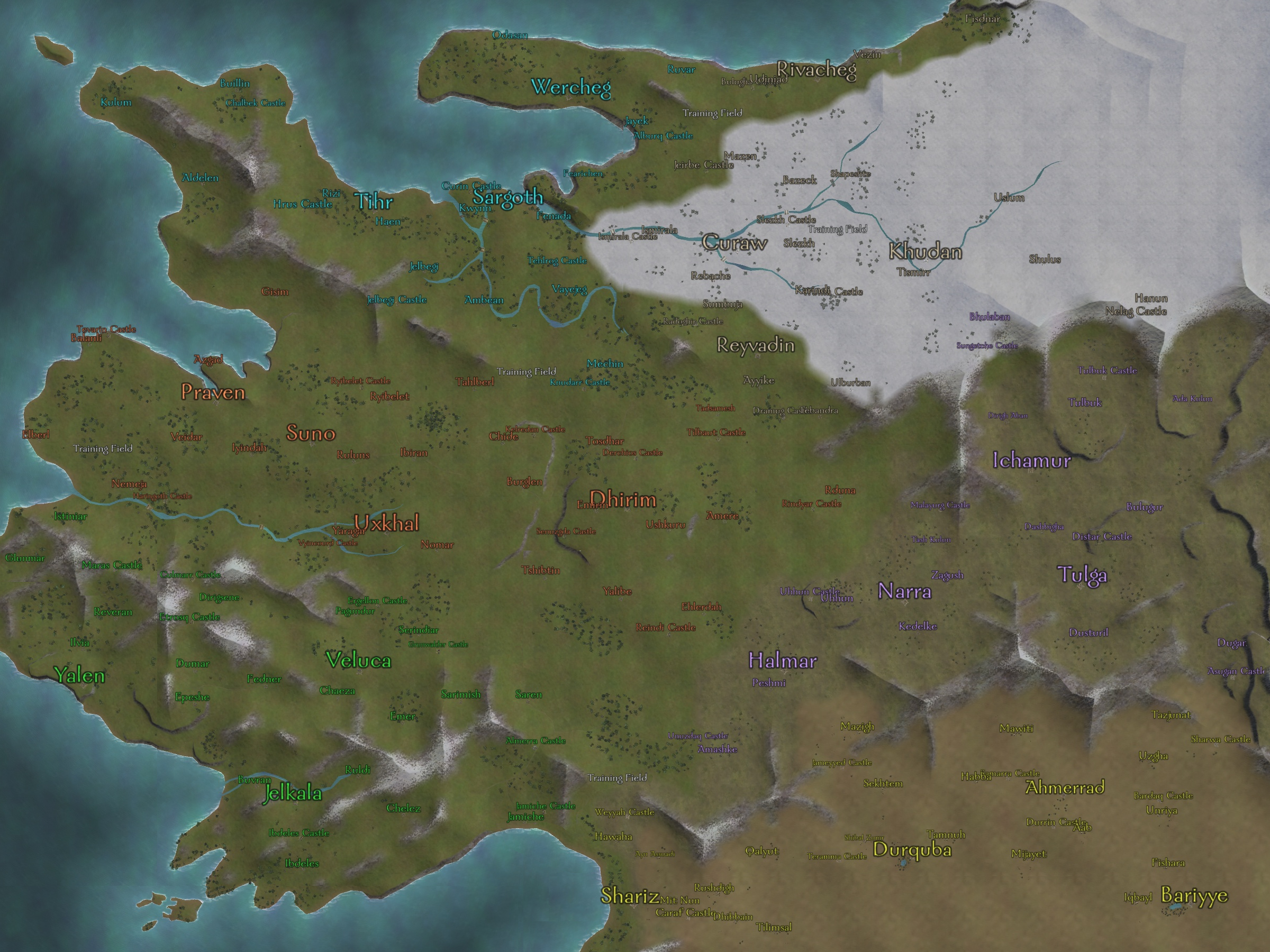 Calradia Mount and Blade Wiki