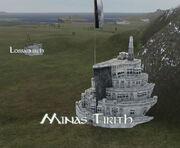 Minas Tirith Map