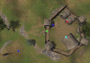 Tehlrog Castle map