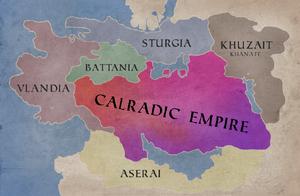 Bannerlord Map Calradric Empire