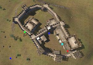 Asugan Castle map