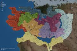 Bannerlord Calradia Political map