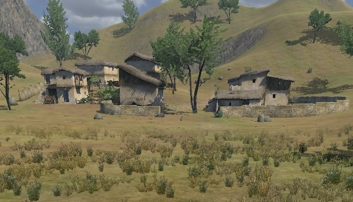 Mount and blade villages