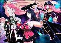 Miniskirt Pirates - Manga Promotional Image