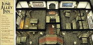 June Alley Inn - Main Floor Map