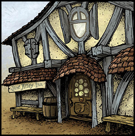 June Alley Inn Exterior