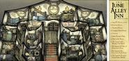 June Alley Inn - Upper Floor Map