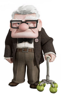 carl fredricksen movie franchises best animated feature winpedia