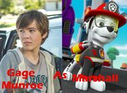 Gage Munroe as Marshall updated photo
