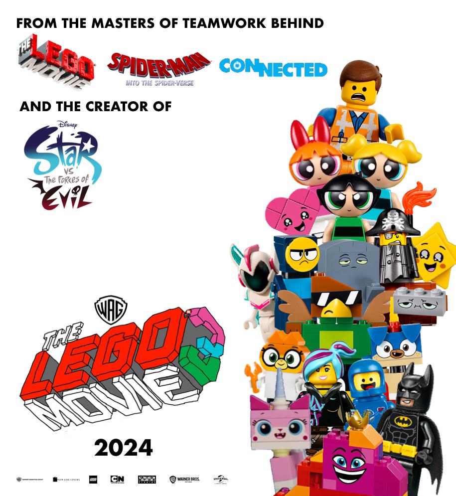 Sticker 15 The LEGO Movie 2 Blue Ocean