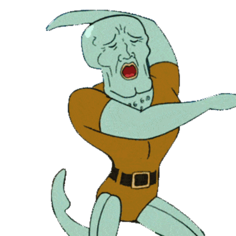 Handsome Squidward/Squidward in <i>Memes Infinity War</i>