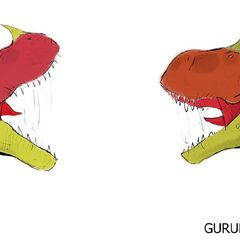 Carnotaurus Vs Ceratosaurus, One Of The Many Dinosaur Fights That Appear In The Movie