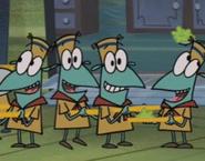 Larry, Louie, Leonard and Liniment