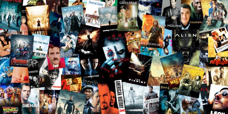 Resultado de imagen para movie posters collage