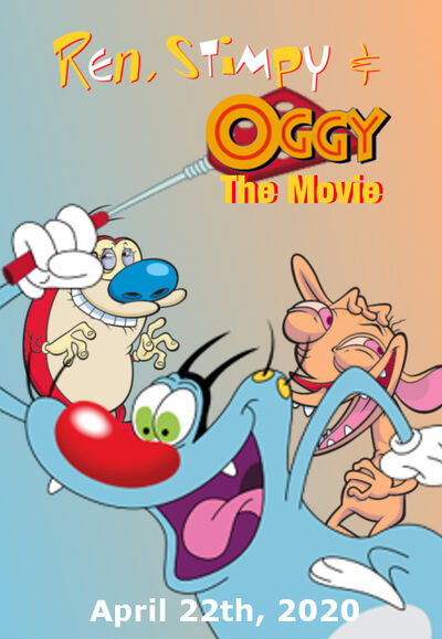 Ren, Stimpy & Oggy The Movie Poster