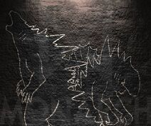Fanmade titanus gojiras cave painting by terryzillasaurus dda0mgy-pre