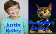 Justin as Chase
