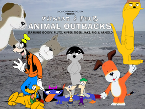 Phineas & Ferb Animal Outbacks poster