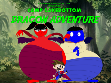 Camp Lakebottom Dragon Adventure poster