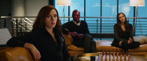 Vision Scarlet Witch Black Widow