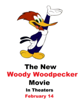 The New Woody Woodpecker Movie Poster