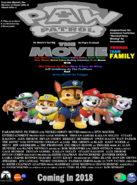 PAW Patrol The Movie Theatrical poste