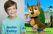 Justin Kelley as Chase (younger)