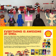 A poster/print ad by Shell Philippines promoting the film