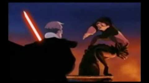 Frollo finds a lightsaber