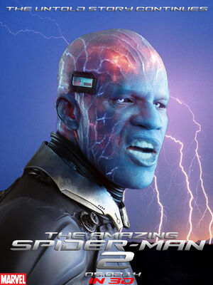 The amazing spiderman 2 electro poster by supersaiyaninfinity6-d6rubuu