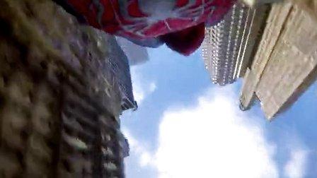 《超凡蜘蛛侠2》中文动态海报 高楼穿梭惊险