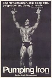 220px-Pumping Iron movie poster