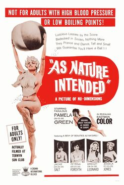 Naked as Nature Intended Poster