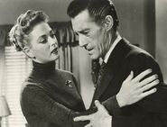 John Carradine and Sally Todd