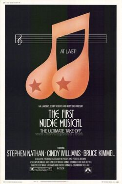 First Nudie Musical Poster