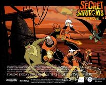 The Secret Saturdays The Movie Poster