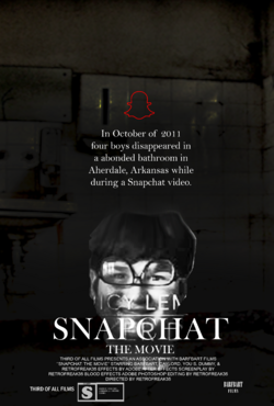 SNAPCHAT THE MOVIE poster
