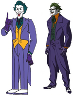 Frank Welker and John DiMaggio are both Jokers
