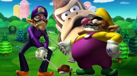 The Wacky Wario bros Golfing for gold
