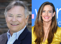 Frank Welker and Stephanie Allynne