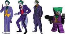 Frank Welker, Corey Burton, John DiMaggio and Steve Blum are Jokers