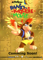 Banjo Kazooie Movie Poster