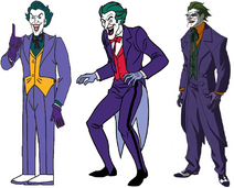Frank Welker, Corey Burton and John DiMaggio are Jokers