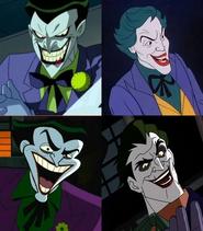 Mark Hamill Jeff Bennett John DiMaggio and Frank Welker are Jokers